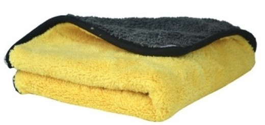 1 pc 800gsm 45cmx38cm Super Thick Plush Microfiber Car Cleaning Cloths Car Care Microfibre Wax Polishing Detailing Towels copy